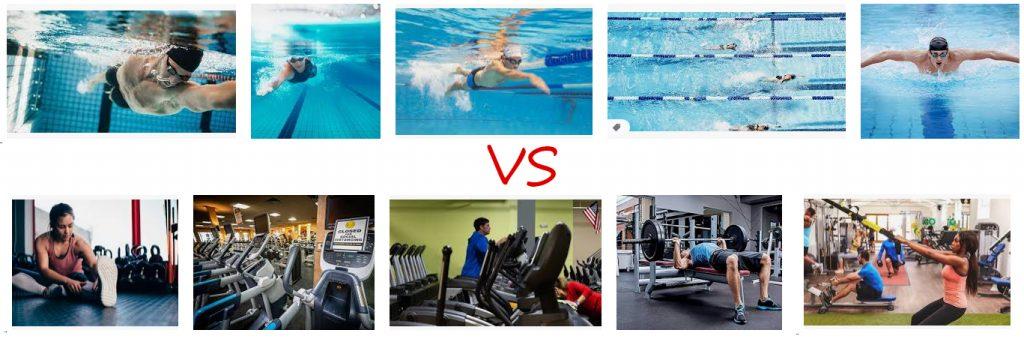 Gym VS Swimming