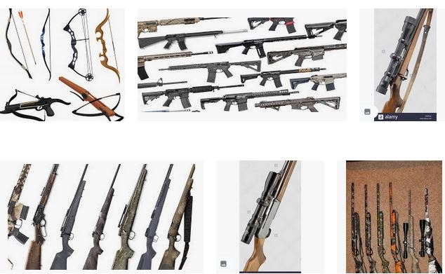 Weapons for hunting